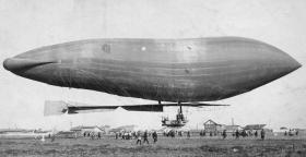 Дирижабль «КРЕЧЕТ» («КОМИССИОННЫЙ»): первый русский военный дирижабль