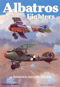 Albatros Fighters история и фото самолетов (Windsock Datafile Special by Brian Knight)