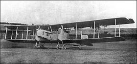 Gotha G.III тяжелый бомбардировщик (ГОТА G.III)