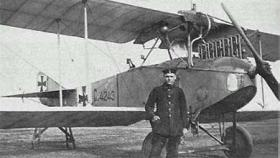 LVG C.II первый самолет с пулеметной турелью
