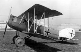 Pfalz D.XII истребитель