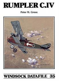 Rumpler C.IV чертежи самолета (Windsock Datafile 35 by Peter M.Grosz)