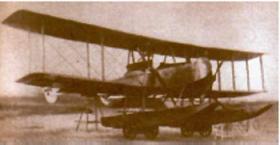 Gotha W.D.7 (трехместный гидроплан-торпедоносец Гота W.D.7)