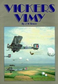 Vickers Vimy история и фото самолёта (Windsock Datafile 1 by J.M. Bruce)