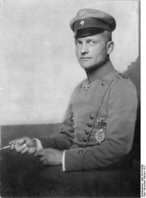 RICHTHOFEN, Manfred Freiherr von, (Рихтхофен, Манфред Фрайхерр фон) - самый результативный летчик ас Первой мировой