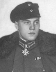 WUSTHOFF, Kurt (Вустхофф, Курт)  - кавалер ордена «Pour le Merite»
