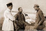 Карл Болле, Эрнст Удет, Карл Боденшатц (слева направо)